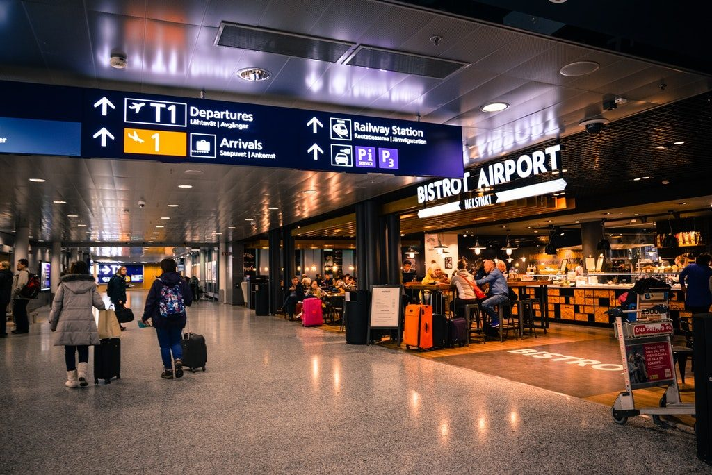 ble indoor navigation airports